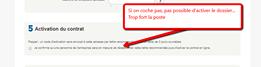 Site internet de la poste - envoi de recommandé