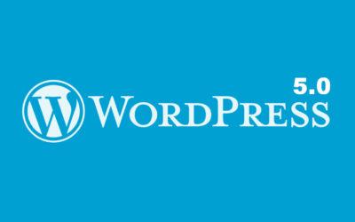 Pourquoi il ne faut pas faire la mise à jour de WordPress vers la V5